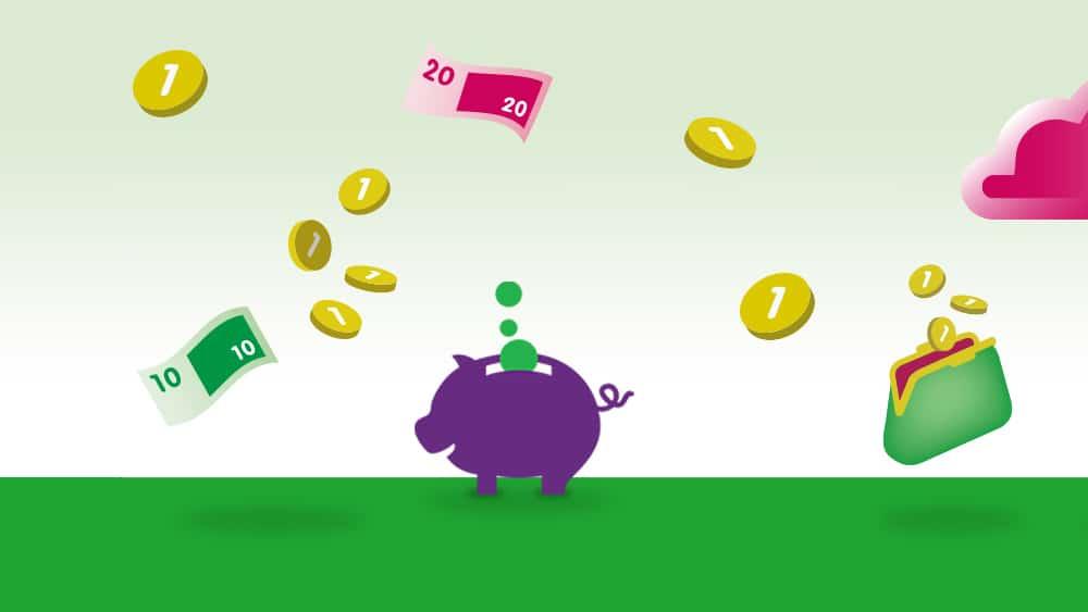 Week van het Geld voorbeeld 3 door Gunfactor 10